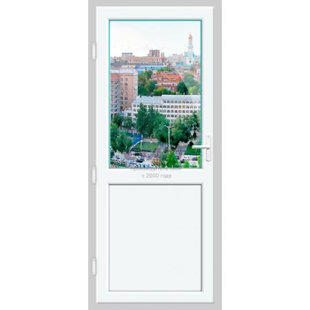Пластиковая дверь балконная Brusbox