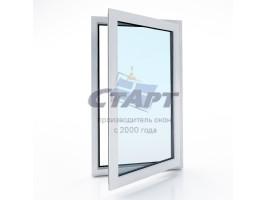 Пластиковое окно одностворчатое Brusbox 60-3 aero