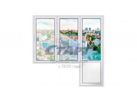Балконный блок Gealan S 9000